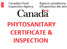 Inspection certificate for US seed orders Image
